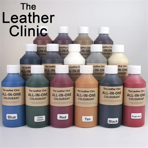 leather sofa dye kit 250ml all in one leather colourant easy to use dye