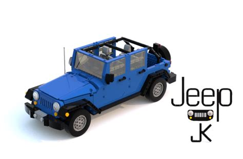 lego jeep wrangler jeep wrangler jk lego model submitted to the lego ideas