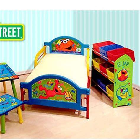 elmo toddler bed set room in a box bundle for kids webnuggetz com