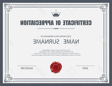 Certificate Design Template Cdr | hd vector certificate template stock border decorative cdr