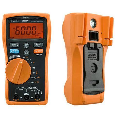 Digital Multimeter Dekko Dm 179t True Rms Temperature Suhu agilent u1233a true rms digital multimeter meter digital