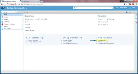 membuat email server zimbra membuat akun pada zimbra 8 0 6 fajar blog