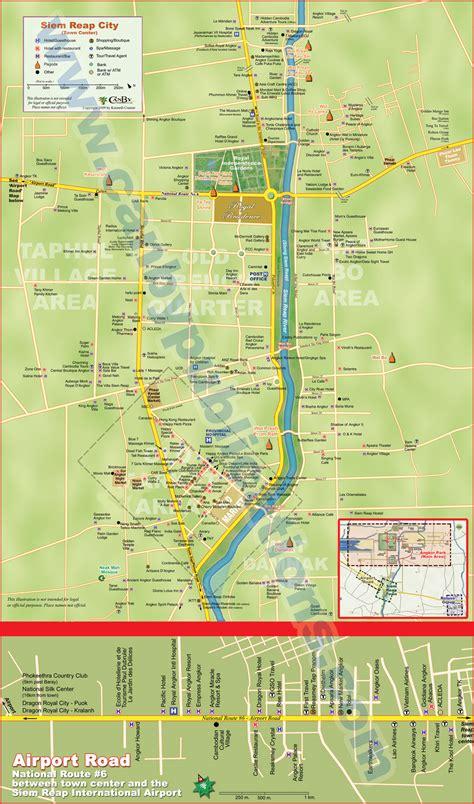Cambodia All All Cambodia Maps ទ សចរណ ន ងបដ សណ ឋ រក ច ច