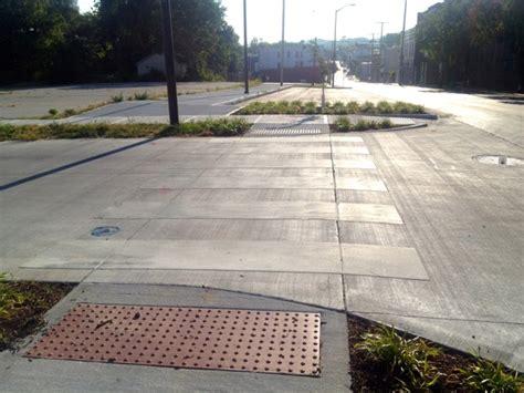 Speed Tables by Safer Angle Parking Arrives In Columbus Park Bikewalkkc