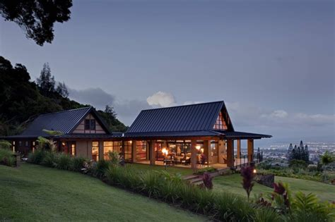 home designer pro dutch gable wing house tropical exterior hawaii by mcclellan