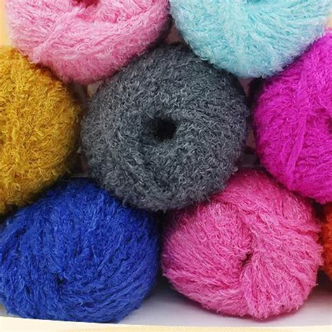 cotton knitting wool new soft warm hair cotton yarn wool yarn