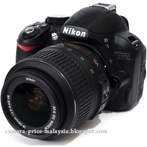 Kamera Nikon D3100 Malaysia prices in malaysia