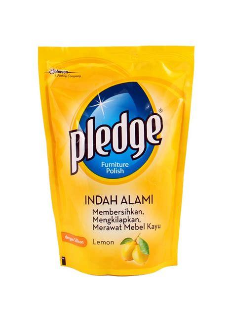 Pledge Pembersih Furniture pledge furniture refill lemon pch 450ml klikindomaret