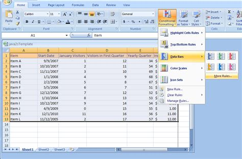 excel 2007 custom format applying specialized conditional formatting using data