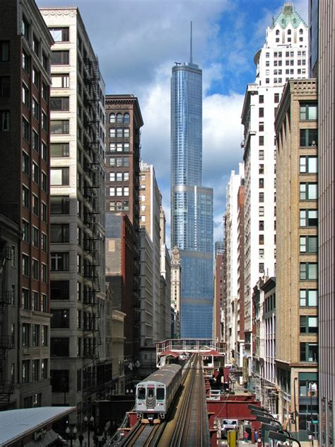 world of architecture tallest towers trump tower chicago world of architecture tallest towers trump tower chicago