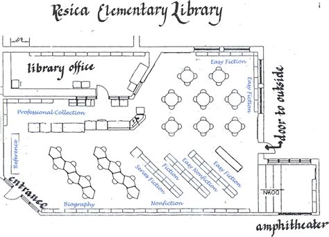 floor plan of library library floor plan