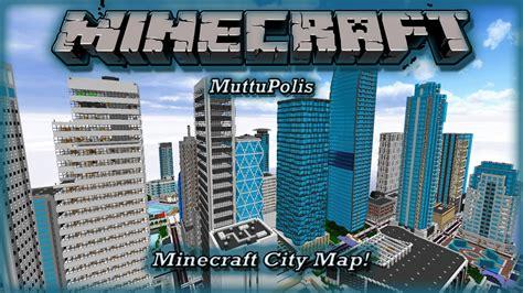 modern city minecraft amazing modern city map quot mattupolis quot pc