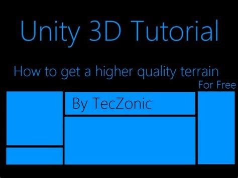 unity tutorial written tessellation and displacement on a unity terrain doovi