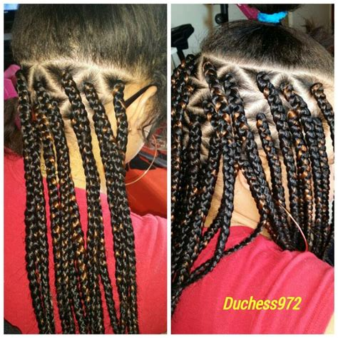 how to part hair for boxed braids 17 images about triangle part box braids on pinterest