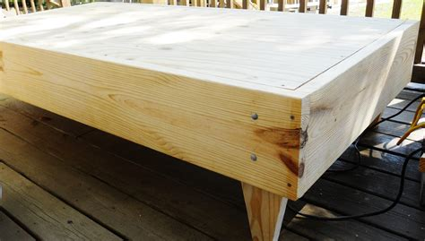 Handmade Platform Beds - custom made platform bed size by davidnvicki on etsy