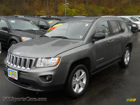 gray jeep compass 2011 jeep compass 2 4 latitude 4x4 in mineral gray