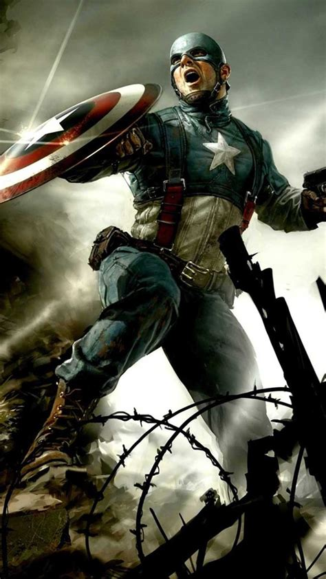 captain america iphone  wallpaper wallpapersafari