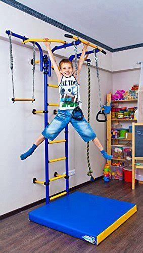 kids indoor sport playground wall mounted gym training