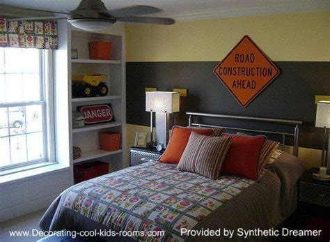construction themed bedroom construction theme bedroom kids rooms pinterest