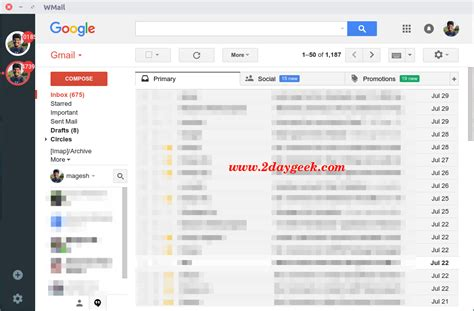 themes for google inbox wmail bringing the gmail google inbox experience to