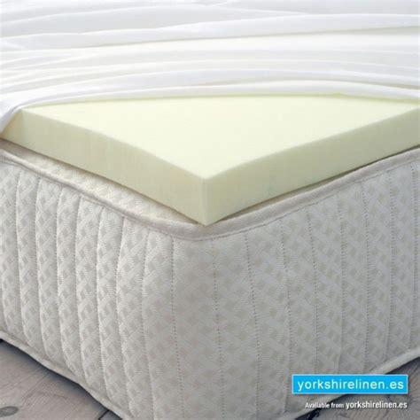 Foam Top Mattress Pads by Memory Foam Mattress Topper Linen S L