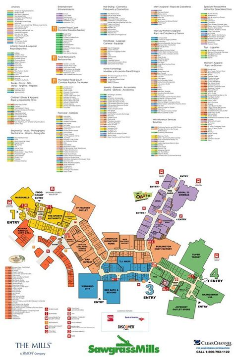 sawgrass mills map sawgrass mills maps maplets