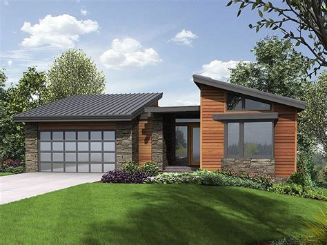 contemporary house plans with walkout basement 034h 0223 modern mountain house plan offers walkout