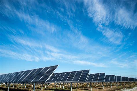 hd solar solar panel solar sun and field hd 4k wallpaper and background