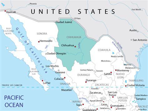 map  chihuahua  mexico