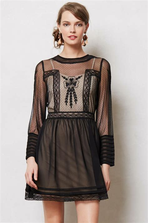 dress anthropologie hedy lace dress