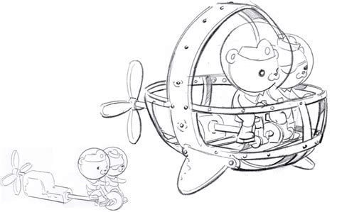 Gup X Coloring Page by Octonauts Colouring Pages Gup C Coloring Page