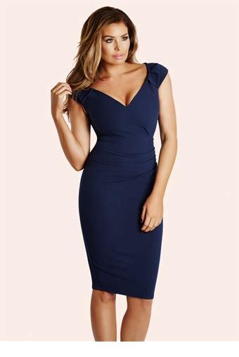 Bodycon Dress W7821uzi D Blue Navy wright cassidy navy ruched bodycon dress