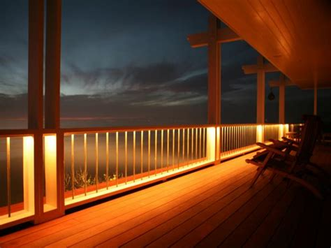 Patio Floor Lighting Deck Lighting Options Hgtv