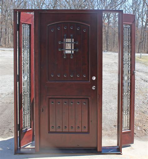 Front Entry Door With Sidelites Operable Sidelights Venting Sidelites Multipoint Sidelight Options