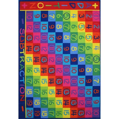6 x 7 area rug la rug time addition multi colored 5 ft 3 in x 7 ft 6 in area rug ft 142 5376 the home
