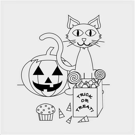 coloring pages of a black cat for halloween free black cat coloring pages halloween