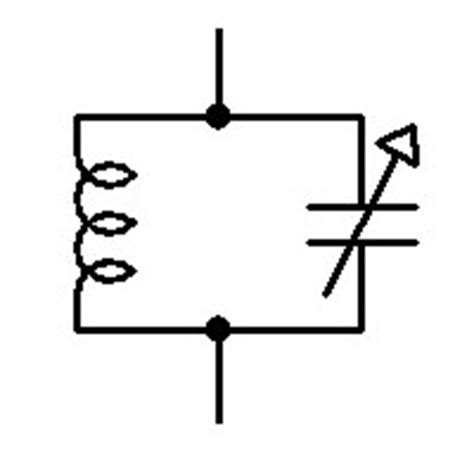 variable capacitor symbol variable capacitor symbol clipart best