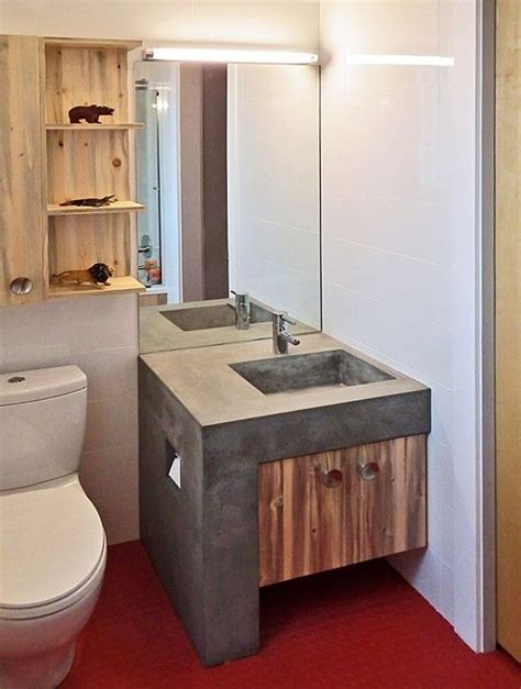 custom  boulder modern home childs bathroom