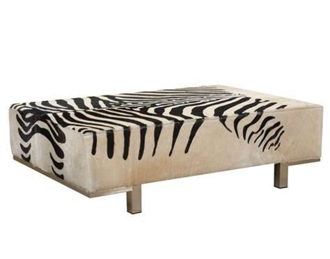 zebra bench ottoman zebra print cowhide ottoman and zebras on pinterest
