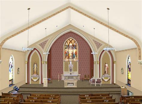 st bartholomew catholic church portfolio of restoration original design conrad
