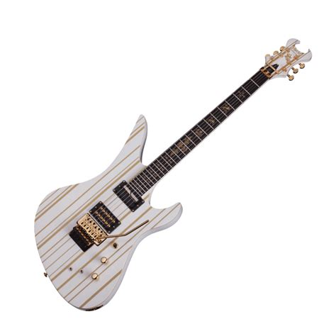 Guitar Schecter Synyster schecter synyster gates custom c limited edition white
