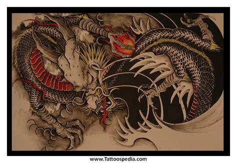 dragon tattoos mythical 4