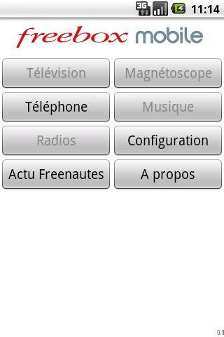 l mobile market l application freebox mobile disponible sur l android