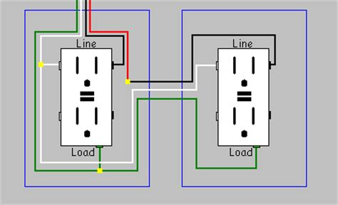 electrical how do i install a gfci receptacle with two