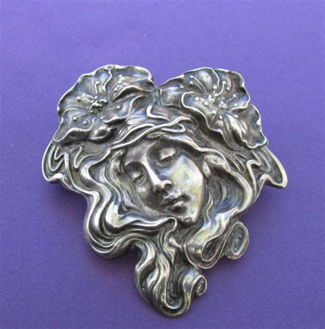 Bros Pin Bo02 Silver S 49 best unger brothers sterling nouveau maidens images on nouveau jewelry