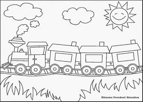 coloring page train station coloring pictures of trains free coloring pictures