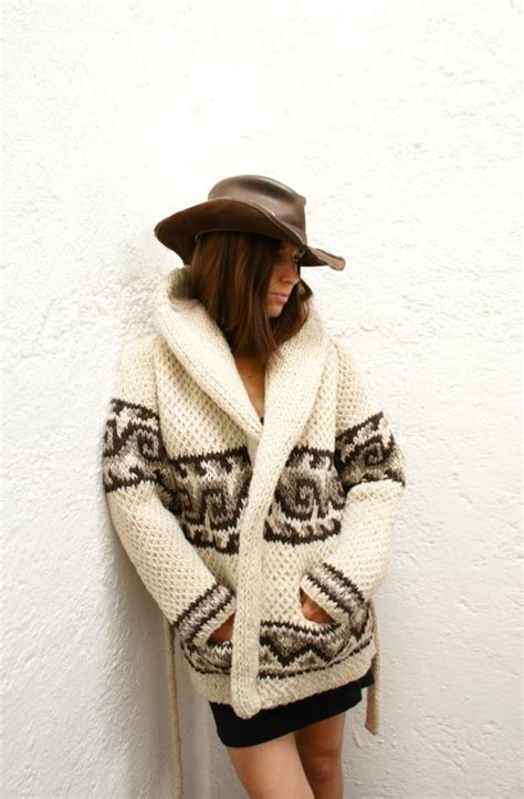 mexican knitting chunky knit wool mexican sweater wave pattern like