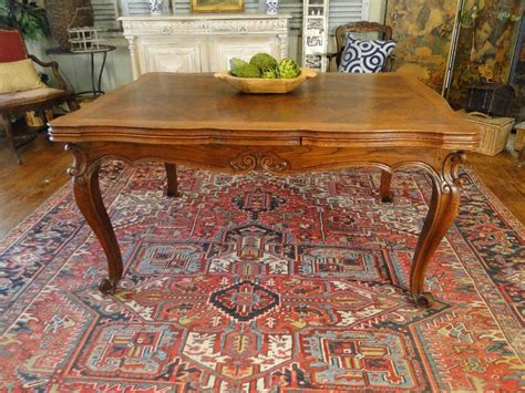 french antique country dining table  lovely oak