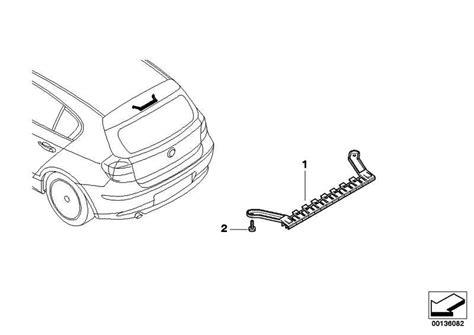 Bmw 1er Cabrio Dritte Bremsleuchte by Dritte Bremsleuchte 1er 63256924673 Leebmann24 De