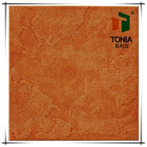 outdoor villa glazed porcelain tile orange color ceramic tiles garden floor tile view orange